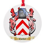 Chalker Round Ornament