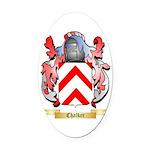 Chalker Oval Car Magnet