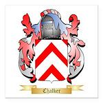 Chalker Square Car Magnet 3