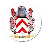 Chalker Round Car Magnet