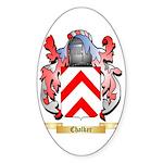 Chalker Sticker (Oval)