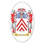 Chalke Sticker (Oval 10 pk)