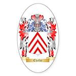 Chalke Sticker (Oval 50 pk)