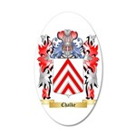 Chalke 35x21 Oval Wall Decal