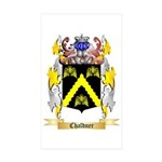 Chaldner Sticker (Rectangle 50 pk)