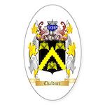 Chaldner Sticker (Oval 10 pk)