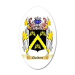 Chaldner 35x21 Oval Wall Decal