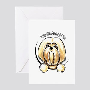 Lhasa Apso IAAM Greeting Card