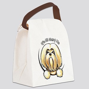 Lhasa Apso IAAM Canvas Lunch Bag
