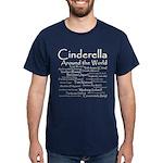 Cinderella Around the World Dark T-Shirt