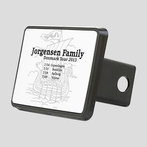 Jorgensen family tour t shirt Rectangular Hitch Co