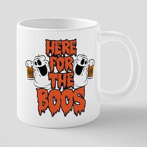 Here For The Boos 20 oz Ceramic Mega Mug