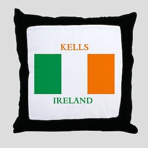 Kells Ireland Throw Pillow