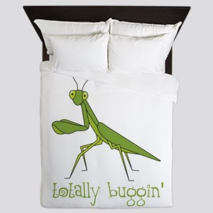 Totally Buggin Queen Duvet