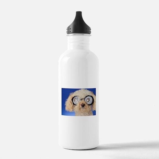 Poodle Water Bottle