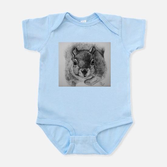 Squrrel Sketch Infant Bodysuit