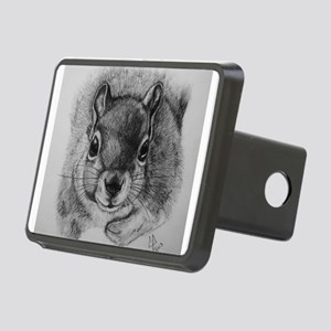 Squrrel Sketch Rectangular Hitch Cover