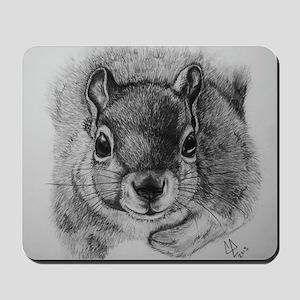 Squrrel Sketch Mousepad