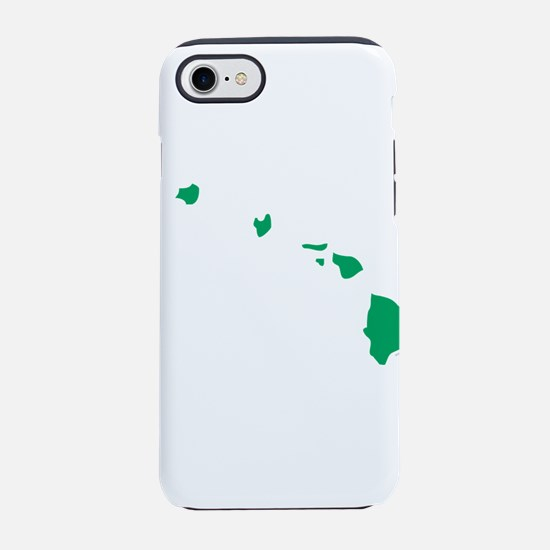 Hawaii State Shape Outline iPhone 7 Tough Case