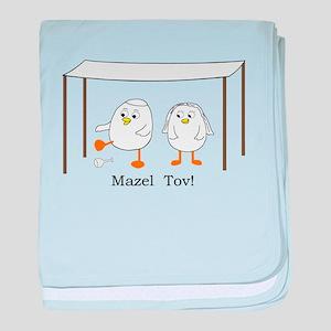 Mazel Tov baby blanket