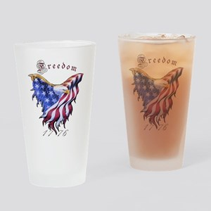 American Freedom, 1776 Drinking Glass