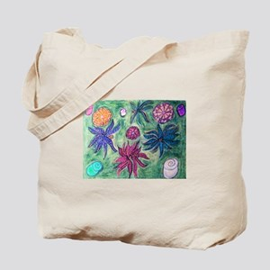 Picasso Male Flower Garden Art Tote Bag