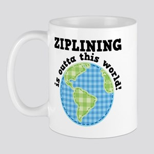 Ziplining Outta This World Mug