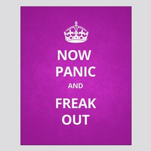 Now Panic and Freak Out Poster (Magenta)