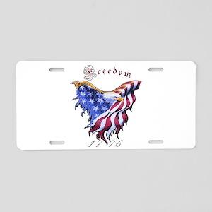 American Freedom, 1776 Aluminum License Plate