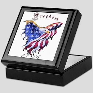 American Freedom, 1776 Keepsake Box