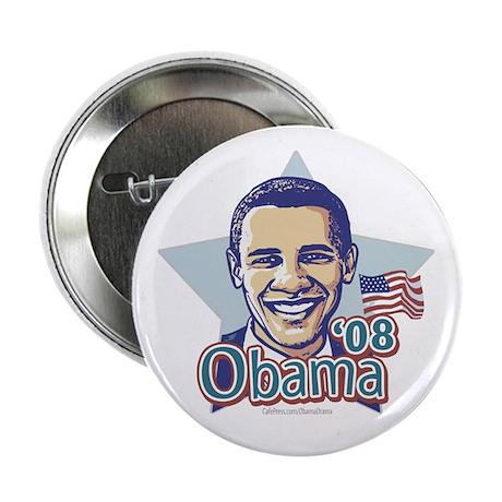 """No Drama Vote Obama '08 2.25"""" Button (10 pack)"""