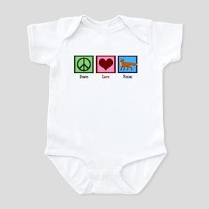 Peace Love Foxes Infant Bodysuit