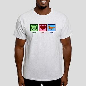 Peace Love Foxes Light T-Shirt