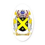 Chaldecroft Oval Car Magnet