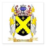 Chaldecroft Square Car Magnet 3