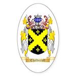 Chaldecroft Sticker (Oval 10 pk)