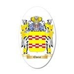 Chaize 35x21 Oval Wall Decal