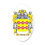 Chaise Oval Car Magnet
