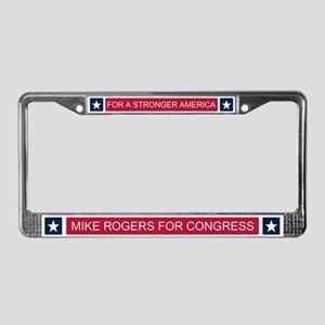 Elect Mike Rogers License Plate Frame