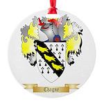 Chagne Round Ornament