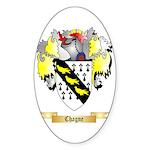 Chagne Sticker (Oval 10 pk)
