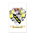 Chagne 35x21 Wall Decal