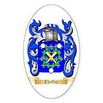 Chaffne Sticker (Oval 50 pk)
