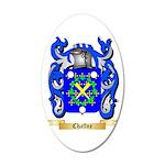 Chaffne 20x12 Oval Wall Decal