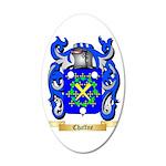 Chaffne 35x21 Oval Wall Decal