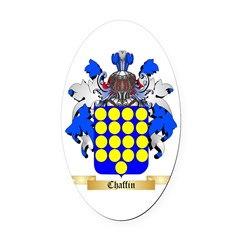 Chaffin Oval Car Magnet