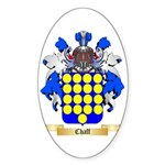 Chaff Sticker (Oval 10 pk)