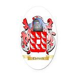 Chadwick Oval Car Magnet