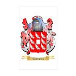 Chadwick Sticker (Rectangle 50 pk)