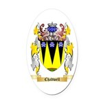 Chadwell Oval Car Magnet